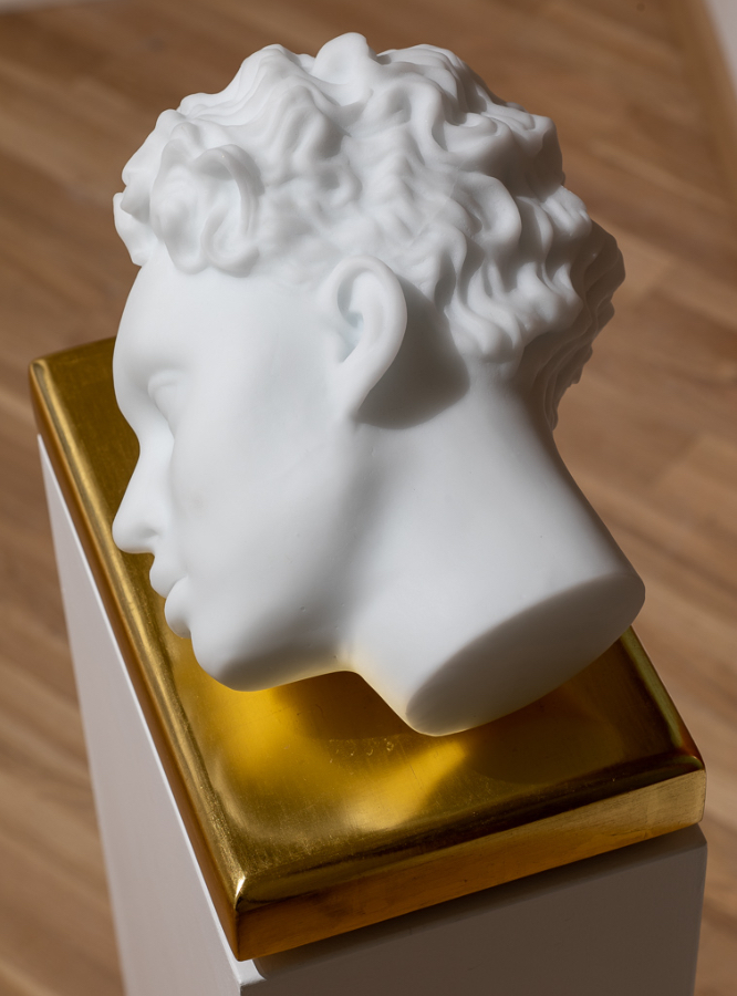 Ritratto di un ricordo (remoto) su rettangolo aureo-2